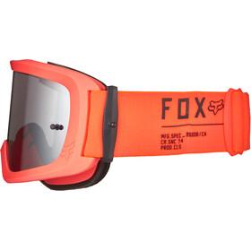 Fox Main II Gain Spark Goggles, fluorescent orange/chrome mirrored